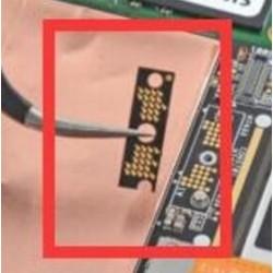 Module contacteur intermediaire nappe écran et carte mère surface pro 3