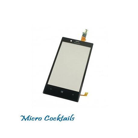 Vitre Tactile Pour Nokia Lumia 720 Noire