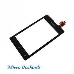 Vitre Tactile pour Sony Xperia E Noire C1504 C1505