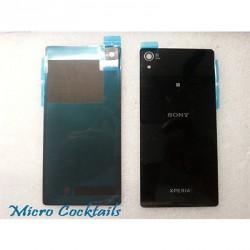 Vitre arrière Sony Xperia Z2 D6503 Noire avec autocollant