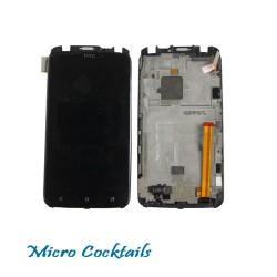 Ecran Complet vitre tactile LCD avec chassis HTC One X+ One X Plus Originale