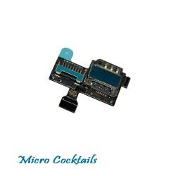 nappe lecteur carte Sim mémoire micro sd galaxy S4 mini gt-i9195