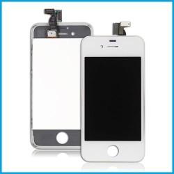 Ecran iPhone 4S (LCD Rétina + Vitre tactile sur châssis) Blanc