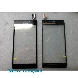vitre tactile noire sony xperia M2 S50H