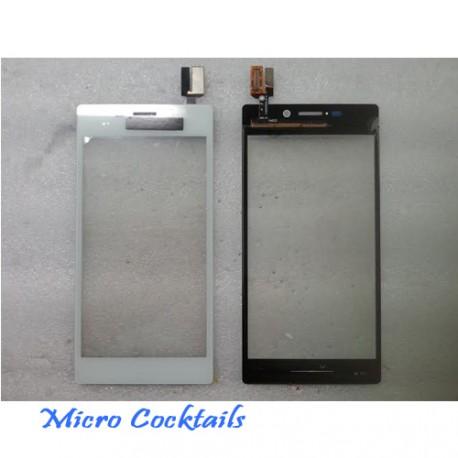 Vitre Tactile Blanche Sony Xpéria M2 S50H Blanc