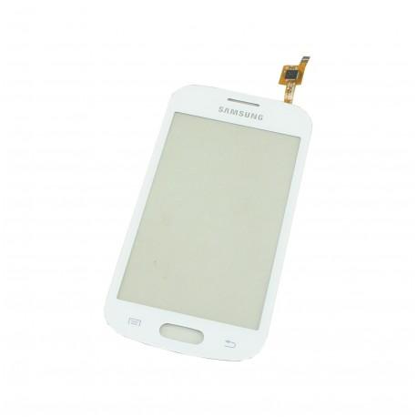 Vitre Tactile Blanche Samsung Galaxy Trend Lite S7390 Blanc