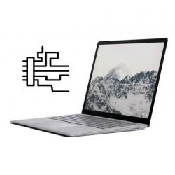 """Remplacement carte mère Microsoft Surface Laptop 13.5"""" Core i5, RAM 4 Go, SSD 128 Go"""