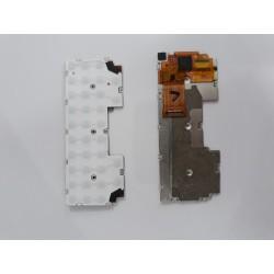 Nappe Clavier Blackberry Keyone (Sans les touches et bouton empreinte)