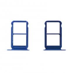 Tiroir Sim bleu Huawei Honor 10