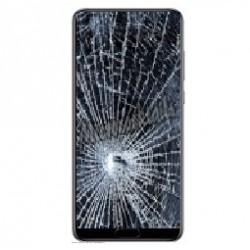 Réparation écran cassé vitre fissurée Samsung Galaxy A7 2018 A750F