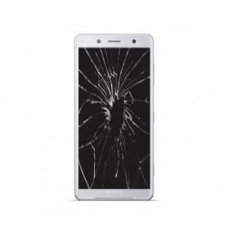 Réparation écran cassé vitre fissurée Sony Xpéria XZ2 compact