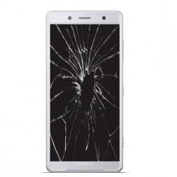Réparation écran cassé vitre fissurée Xpéria XZ2