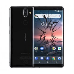 Réparation écran cassé Nokia 8 Sirocco