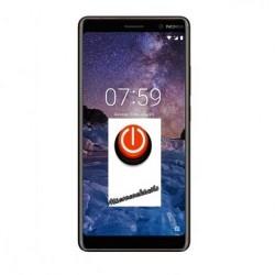 Réparation bouton alimentation power Nokia 7 Plus