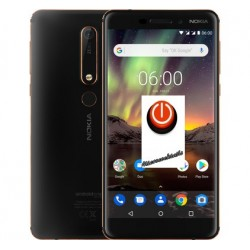 Réparation bouton alimentation power Nokia 6.1
