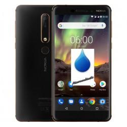 Désoxydation Nokia 6.1 contact liquide