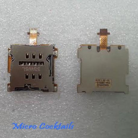Nappe Lecteur Carte Sim HTC One Mini M4