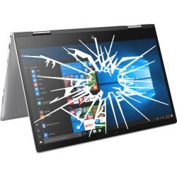 Réparation PC portable HP Envy Convertible x360 15-BP écran cassé vitre fissurée