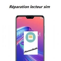 Réparation lecteur carte sim Zenfone Max M2 ZB633KL