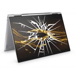 Réparation PC portable HP Spectre x360 13-ae007nf écran cassé vitre fissurée