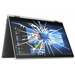 Réparation PC portable HP Pavilion x360 14-cd0023nf écran cassé vitre fissurée