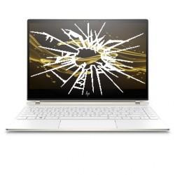 Réparation PC portable HP Spectre 13-af écran cassé vitre fissurée
