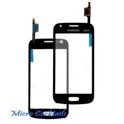 Vitre Tactile Noire Samsung Galaxy ACE 3 S7270 S7275 noir avec autocollant