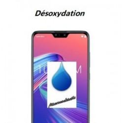 Désoxydation Zenfone Max M2 ZB633KL contact liquide