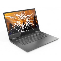 Réparation écran cassé vitre fissurée Lenovo Yoga C730-15IWL