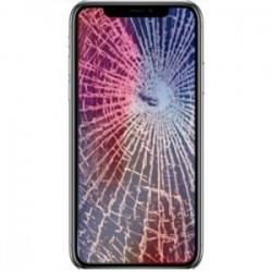 Réparation écran cassé vitre fissurée iPhone XR