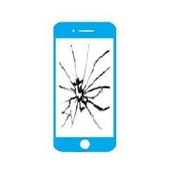 Réparation écran cassé vitre fissurée iPhone 8