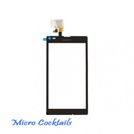 Vitre Tactile Sony Xpéria L s36h C2105 noire