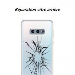 Réparation vitre arrière cassée Samsung Galaxy S10
