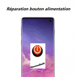 Réparation bouton power alimentation Samsung Galaxy S10