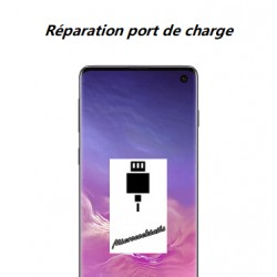 Réparation connecteur de charge Samsung Galaxy S10