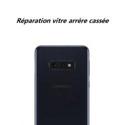 Réparation vitre arrière cassée Samsung Galaxy S10e
