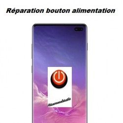 Réparation bouton power alimentation Samsung Galaxy S10 Plus