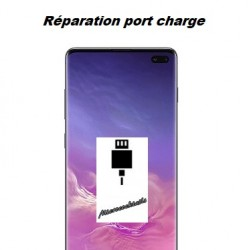 Réparation connecteur de charge Samsung Galaxy S10 Plus