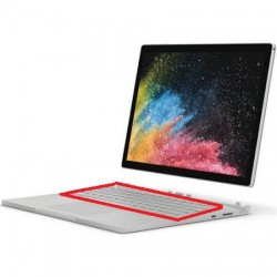 Relacement clavier Surface Book QWEARTY Version 2016 GPU