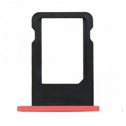 Tiroir carte SIM iPhone 5C Rouge