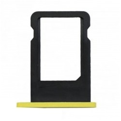 Tiroir carte SIM iPhone 5C Jaune