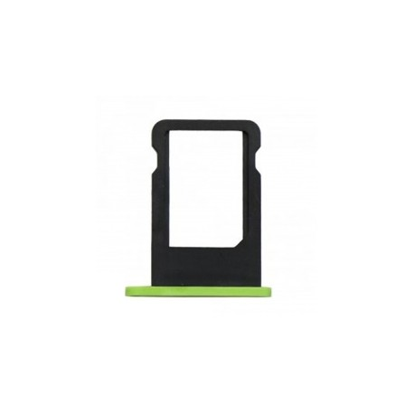Tiroir carte SIM iPhone 5C Vert