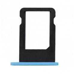 Tiroir carte SIM iPhone 5C Bleu