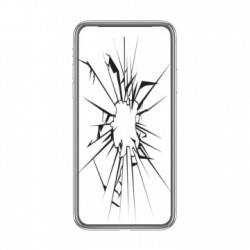 Réparation écran cassé vitre fissurée Moto G8 Plus