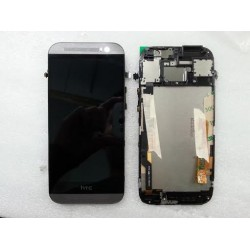 HTC One M8 Ecran complet LCD vitre tactile chassis