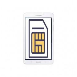 Réparation lecteur carte sim Samsung Galxy Tab A 10.1 2016 T580 T585