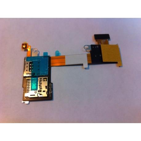 Nappe lecteur SIM & Micro SD Xpéria M2