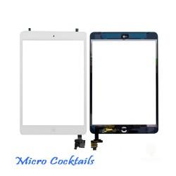 Vitre Tactile iPad Mini Blanche