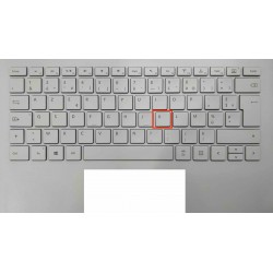 """Touche de Remplacement """"K"""" pour Clavier français Microsoft Surfacebook (articulation offerte) Type 1"""