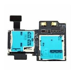 Nappe Lecteur Carte SIM Micro SD Samsung Galaxy S4 i9500 i9505 piece de rechange